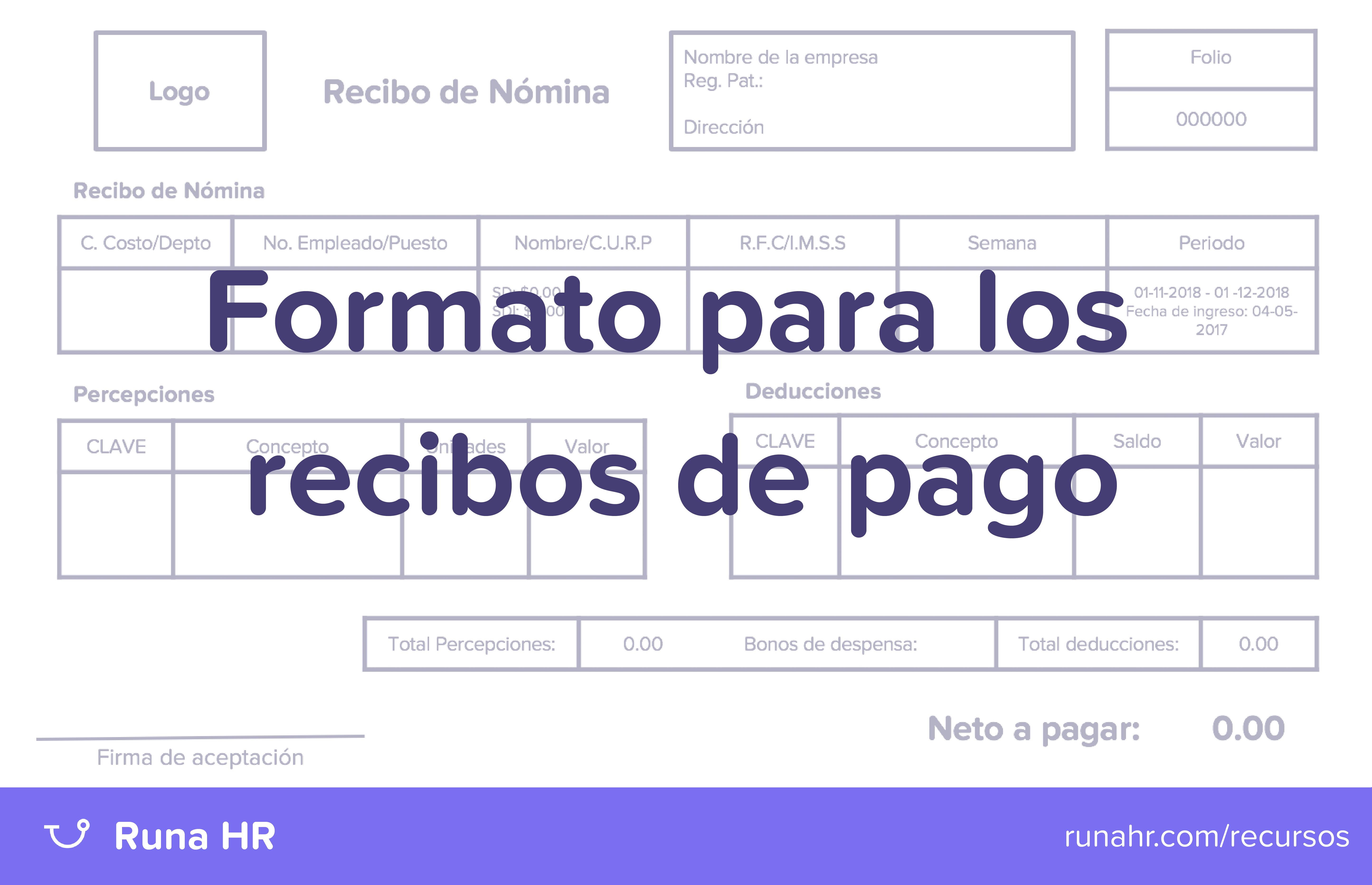 descarga tu formato para tus recibos de nómina runa